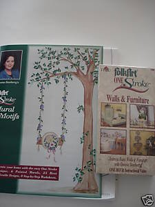 Donna Dewberry Wall Mural Motifs Workbook & VHS