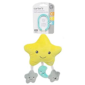 Carter's Starlight On-The-Go Soother with Lights & Music