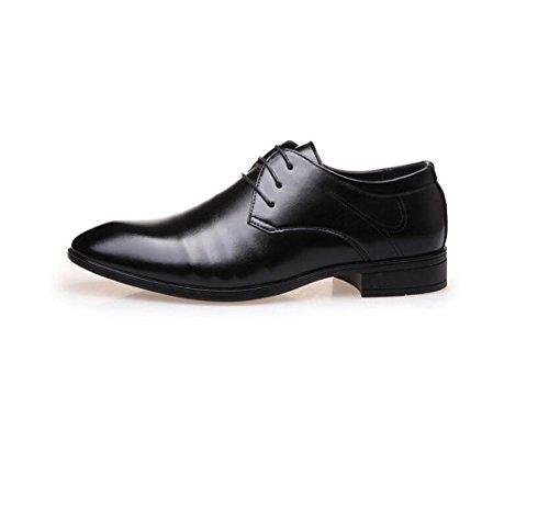 da Business Punta Rete da Fondo Bean Uomo A Scarpe Scarpe Traspiranti Casual Oxford Pigro Tonda Black Scarpe Morbido 1SdEwSqO