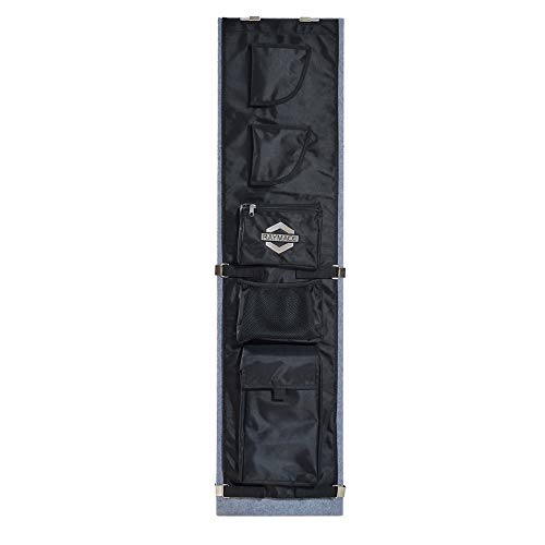 Raymace Large Gun Safe Door Panel Organizer 10 3/5-13 2/5W Inch 43 4/5H inch Adjustable Storage Solution for Long Gun Safe Cabinet