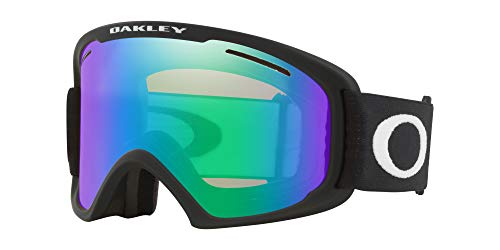 Oakley O Frame 2.0 Asian Fit Snow Goggle, Matte Black, Large, Jade Iridium Lens