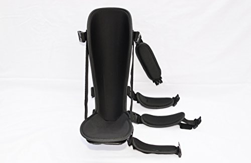 StrictlyStability Plantar Night Boot with 4 Straps, Double Sided Buckles, 2 Stretch Wedges & Massage Ball (Small) by StrictlyStability (Image #3)