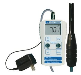 Milwaukee Instruments pH/Electric Conductivity/Total Dissolved Solids Combo Meter - 716678