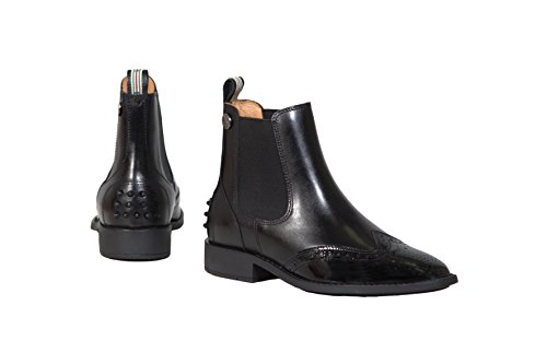 Botas negro de equitación Piel mujer de para Bayer Lisa IRIS Sp5qP5
