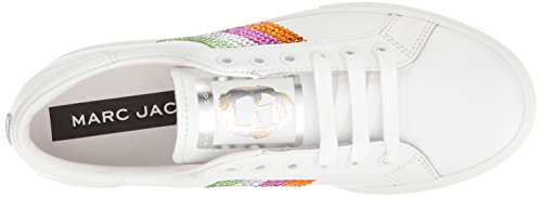 Marc Jacobs Womens Empire Strass Lage Top Sneaker Roze / Multi
