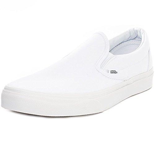 Vans on Erwachsene Blanc U Sneaker Slip Classic Pur Unisex Blanc xOFvwnxr