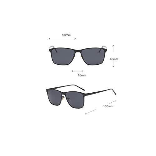 Estilo Protección Sol Para Mujer Gafas Style De Metal Y Ax Exteriores 7 Hombre atg Uv wYxtI
