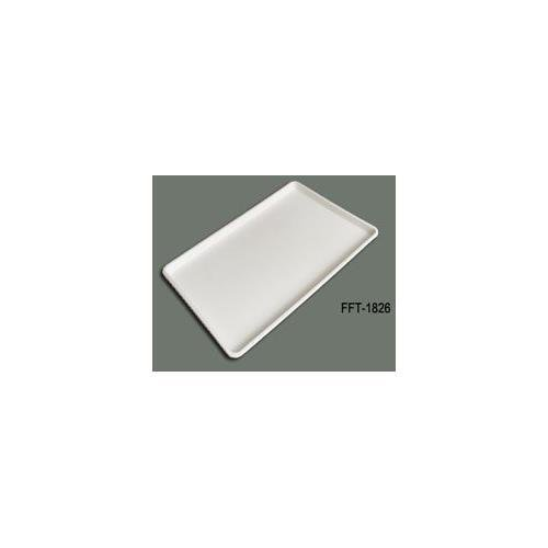 Winco - Plastic Tray White, (18 by 26 Inch) (Set of -