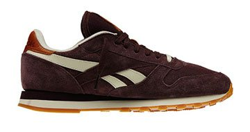 leather reebok Classic Reebok et femme bordeauxSoldes Chaussures fby76gY