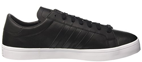 Adidas Courtvantage Bz0442 Menns Sko Svart