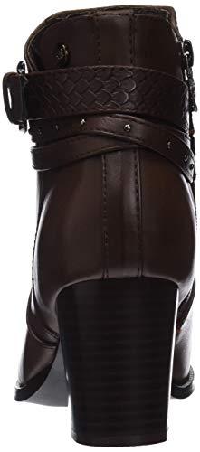 Marron Braun Stiefel 48400 XTI Damen Kurzschaft Marron vnxwCqOwY