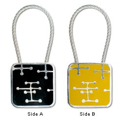ACME Studios Dots Key Ring by Charles & Ray Eames (KE09KR)