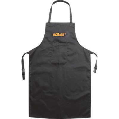 Hobart 770686 Black Cotton Welding Apron by Hobart