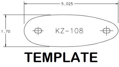 Kick-EEZ KZ-108 Pre fit Recoil pad