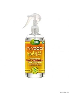 BACTEMIA MICRODOR Body 500ml eliminador de Olor Corporal para Perros, Gatos y pequeños mamíferos: Amazon.es: Productos para mascotas