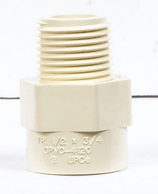 Charlotte Cts/cpvc Reducer Male Adapter (cts21100600ha)
