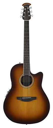 Ovation 6 String Acoustic-Electric Guitar, Right Handed, 2-Color Sunburst (CS24-1)