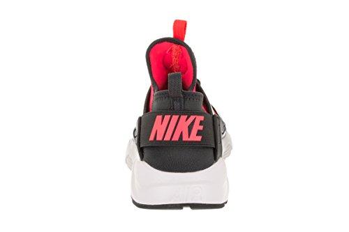 NIKE Kids Air Huarache Run Ultra GS Anthracite/Hot Punch White Running Shoe 7 Kids US