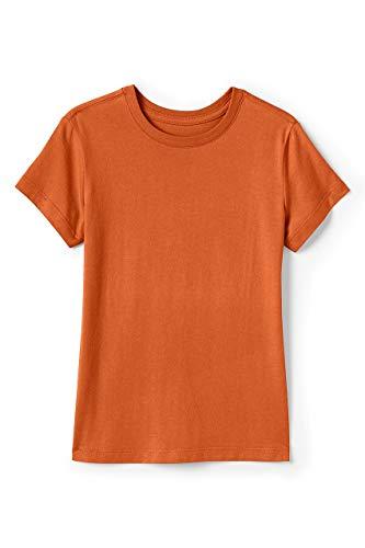 Lands' End School Uniform Girls Short Sleeve Essential T-Shirt