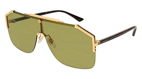 4c8cc5bb1cffa Gucci gg0291s 100% Authentic Men s Sunglasses Gold 004