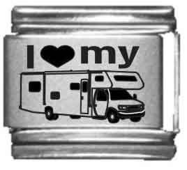 I Heart my RV Laser Etched Ita