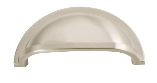 (Hickory Hardware P3055-15 3-Inch Williamsburg Cup Pull, Satin Nickel by Hickory Hardware)