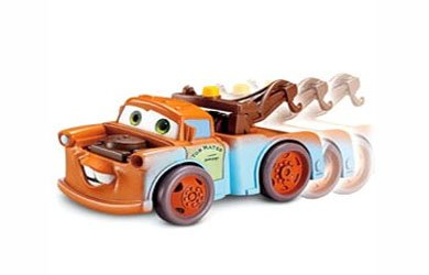 - Cars Shake & Go Racers - Mater