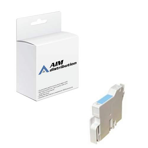 AIM Remanufactured Replacement for Stylus Photo 2100/2200 Light Cyan Inkjet (T034520-US) ()