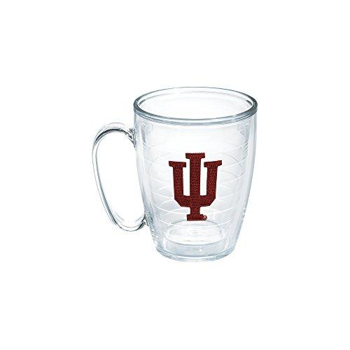 Indiana Mug (Tervis 1048790 Indiana University Emblem Individual Mug, 16 oz, Clear)