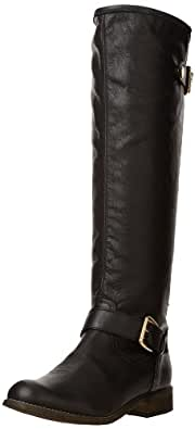 Steve Madden Women's Lynet Boot,Black Multi,5 M US