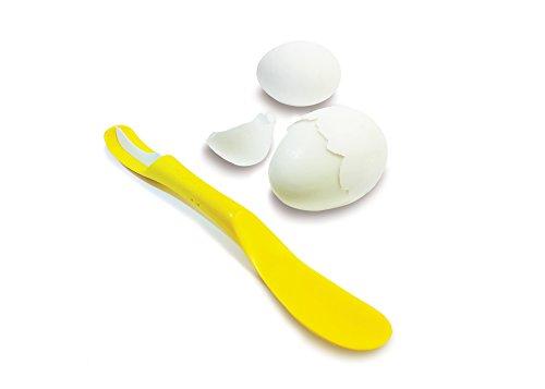 Fusionbrands 8126-YL Eggxactpeel Eggshell Peeler, One Size, Yellow