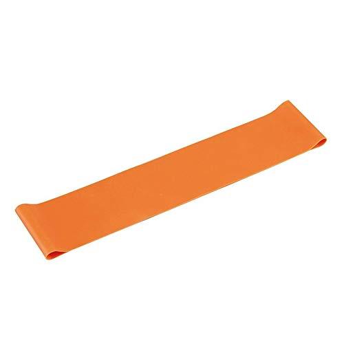 Cintura in Lattice Elastico Sano Anello di trazione Corda Resistenza a trazione Fascia di Allenamento Muscolare Espansore Yoga Attrezzature per Il Fitness Arancione