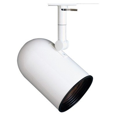 Lightolier Lighting Track - Classics PAR30 Round Back Cylinder Finish: White