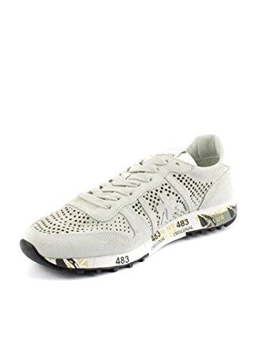 PREMIATA Eric 2124 Sneaker Uomo Pelle Tessuto Bianco Latte 41 Almacenar Manchester Libre Del Envío Fechas De Lanzamiento De Salida Comprar Barato Mejor Lugar obh9W