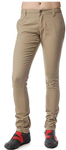 Dickies Girl Juniors 4 Pocket Straight Leg Pant,Khaki,9