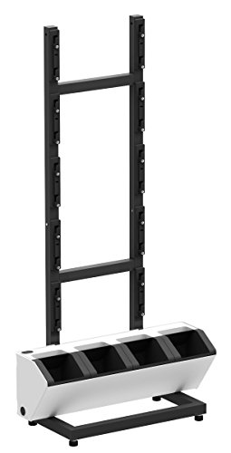 BloomWall Rack - Vertical Mount Stand Holder Divider Organiz