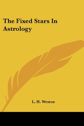 The Fixed Stars in Astrology