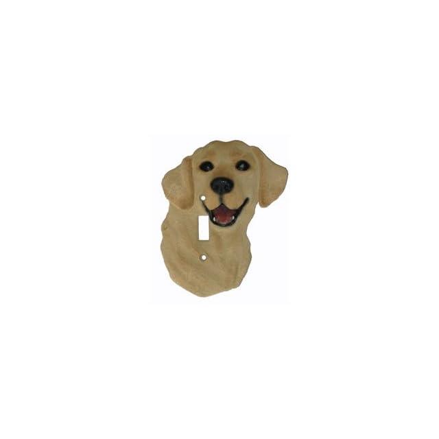 Golden Labrador Retriever Dog Yellow Lab Switch Plate Cover