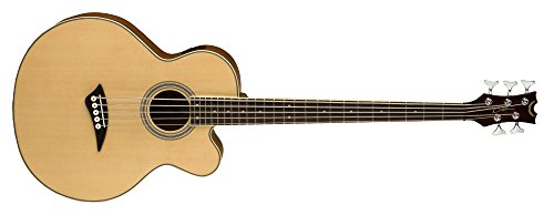 Dean Acoustic-Electric Bass Cutaway 5 String Satin Finish (Cutaway Bass)