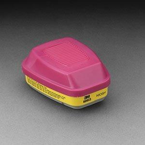 3MTM Cartridge/Filter Organic Vapor/Acid Gas/P100 (2/Bx) (6 Boxes) - R3-60923 by 3M