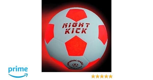 Pelota de futbol Night Kick: Amazon.es: Deportes y aire libre