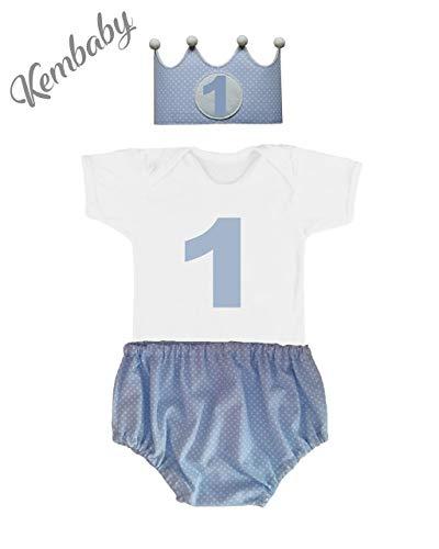 Conjunto primer cumpleaños 1 año niño (Body o Camiseta + ...
