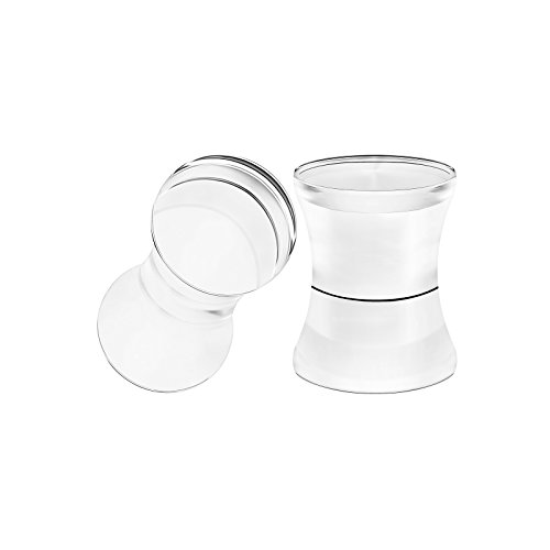 BIG GAUGES Pair Clear Acrylic 2g Gauge 6mm Double Flare Piercing Jewelry Ear Stretcher Plugs Flesh Earring Lobe BG0441
