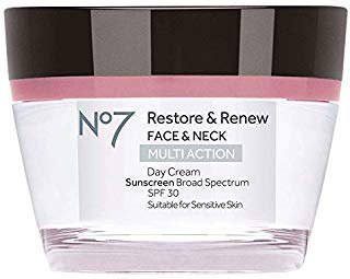 Boots No7 Restore and Renew Day Cream, SPF 30 1.69 Ounce