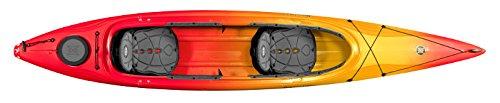 Perception Cove 14.5 Kayak, Red/Yellow