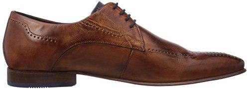 Daniel Hechter HB10041W - Zapato brogue de cuero hombre marrón - marrón (cognac 644)