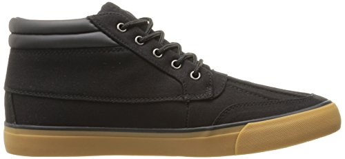 Lugz Mens Boomer Fashion Sneaker Black / Gum