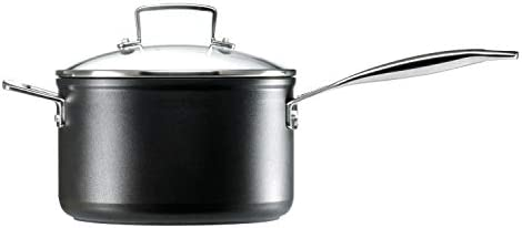 Le Creuset Toughened Nonstick 4-Quart Saucepan with Lid,