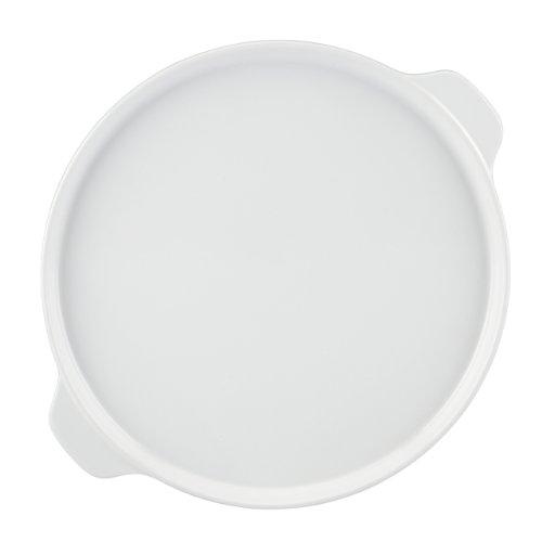 Mario Batali by Dansk 833721 Stoneware Pizza Pan, 12-Inch, White