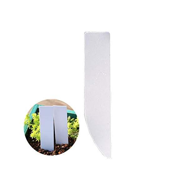 XD E-commerce Etichette vegetali per Erbe Impianto di plastica Riutilizzabile Etichette vegetali per Fiori Etichette per… 1 spesavip